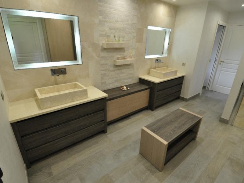 Salle de bain mon projet vivre for Salle de bain bois et pierre